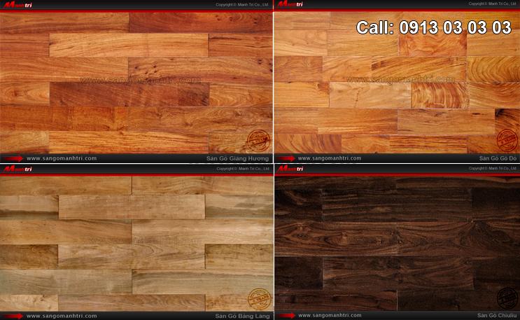 Hình ảnh mẫu gỗ tự nhiên dùng lót sàn nhà