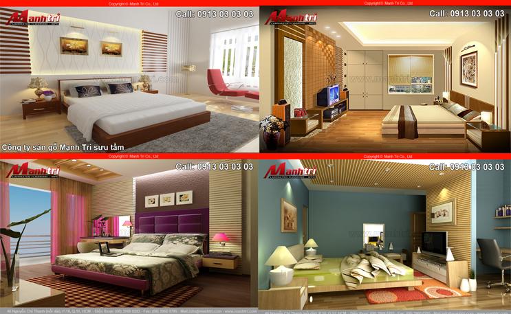 Những mẫu phòng ngủ đẹp theo phong cách hiện đại