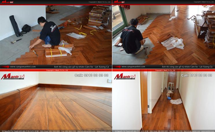 Hình ảnh gỗ tự nhiên lót sàn nhà