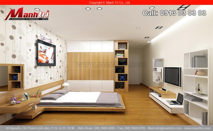 Sàn gỗ tôn vinh vẻ đẹp ngôi nhà bạn