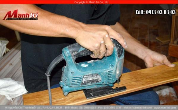 Một máy cắt gỗ khác của công ty Mạnh Trí