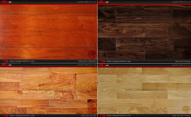 Hình ảnh ván gỗ tự nhiên Căm Xe, Chiu Liu Gỗ Đỏ, Sồi Trắng