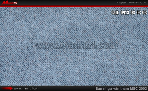 Sàn nhựa vân thảm MSC 2002