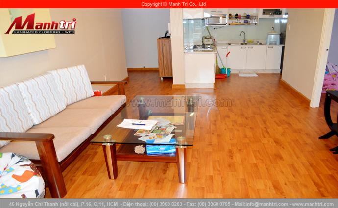 Hình ảnh ván gỗ công nghiệp dùng lót sàn nội thất