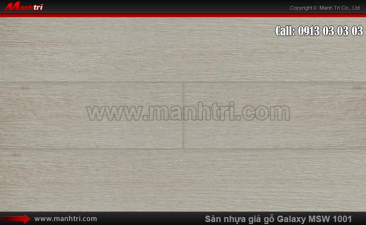 Sàn nhựa giả gỗ MSW 1001