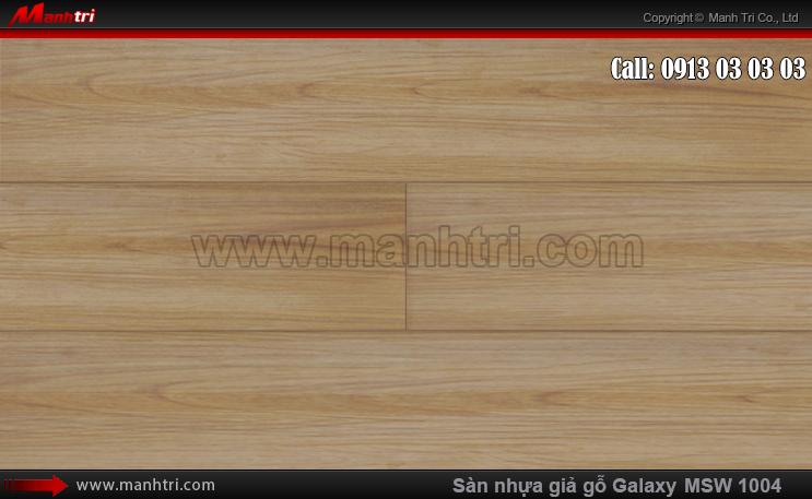Sàn nhựa giả gỗ MSW 1004-D