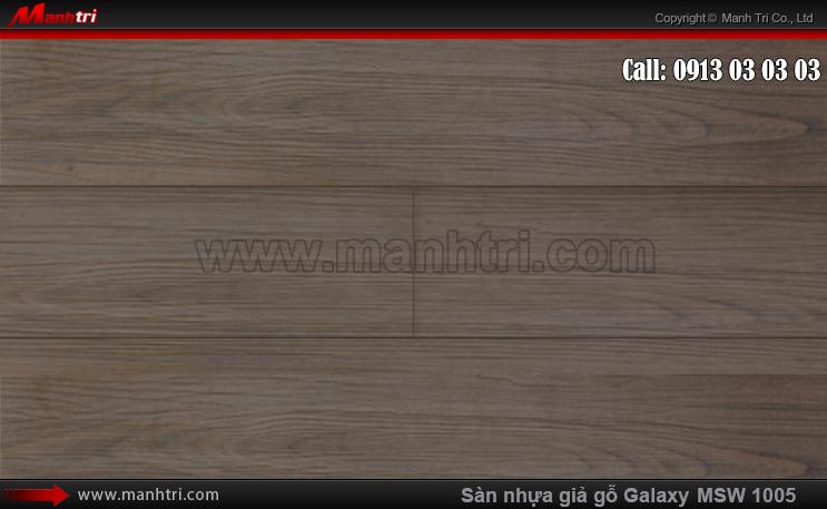 Sàn nhựa giả gỗ MSW 1005-D