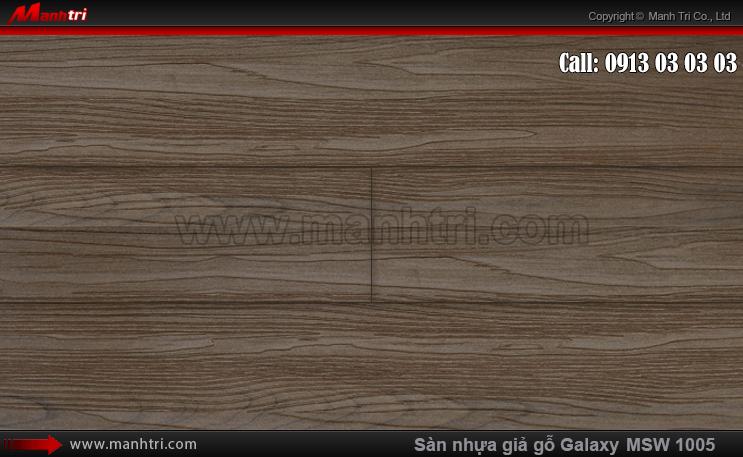 Sàn nhựa giả gỗ MSW 1005