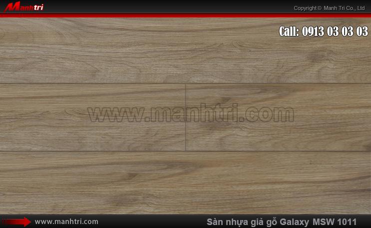 Sàn nhựa giả gỗ MSW 1011