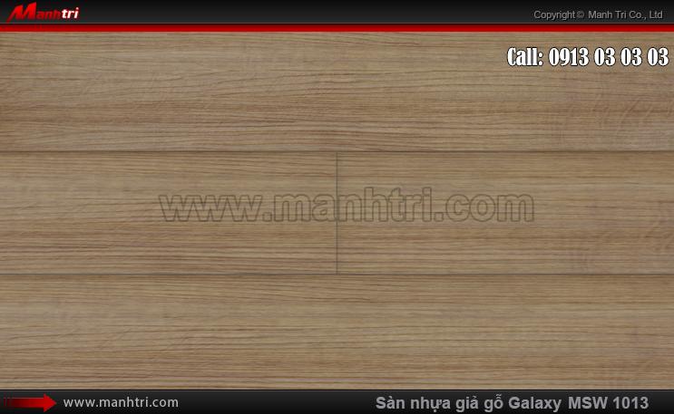 Sàn nhựa giả gỗ MSW 1013