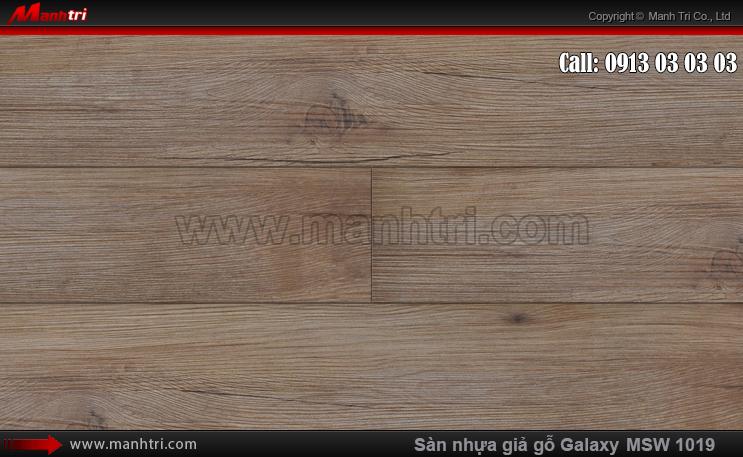 Sàn nhựa giả gỗ MSW 1019