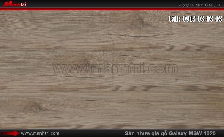 Sàn nhựa giả gỗ MSW 1020