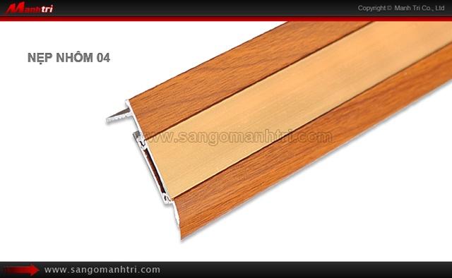 Nẹp nhôm sàn gỗ 04