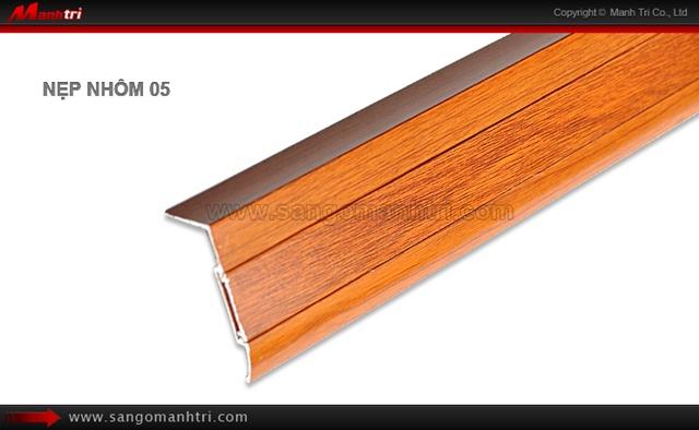 Nẹp nhôm sàn gỗ 05