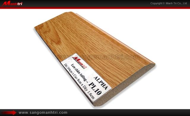 Len chân tường sàn gỗ PL10