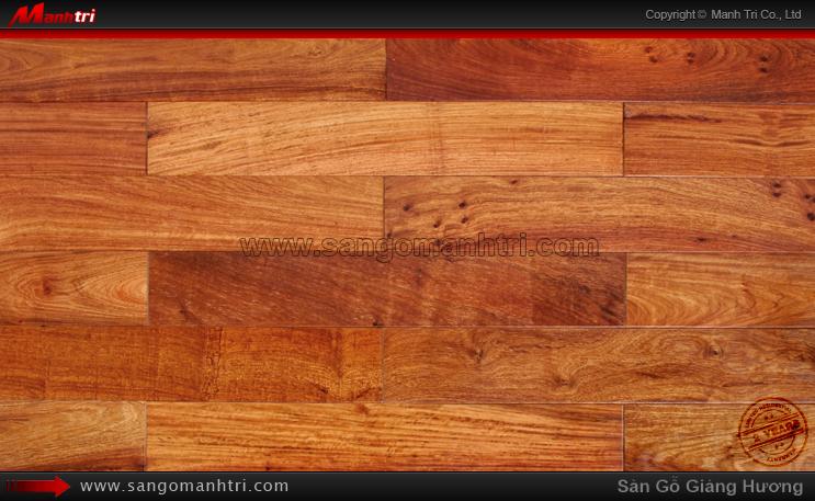 Sàn gỗ tự nhiên Giáng hương