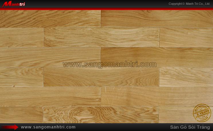 Sàn gỗ tự nhiên Sồi trắng