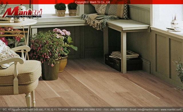 Sàn gỗ rự nhiên Sồi