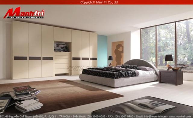 Ván sàn gỗ phòng ngủ