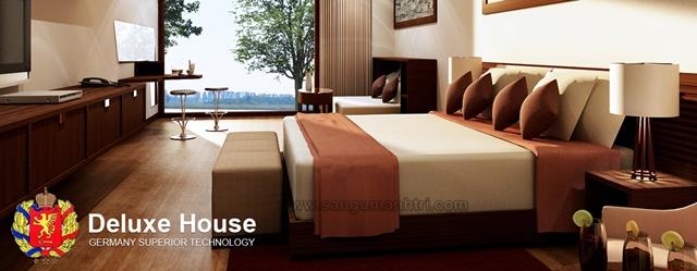 Sàn gỗ Deluxe House
