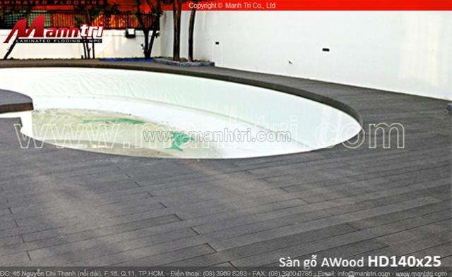 Sàn gỗ Composite