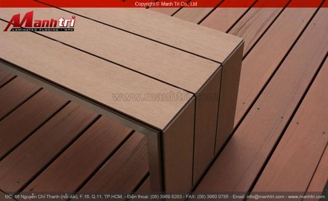 Ván lót sàn gỗ nhựa