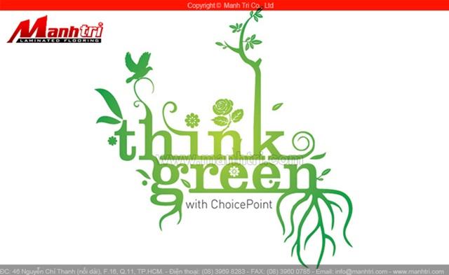 Robina GO GREEN - Sàn gỗ xanh, thân thiện với môi trường