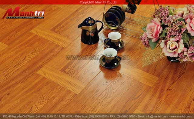 Ván sàn gỗ công nghiệp