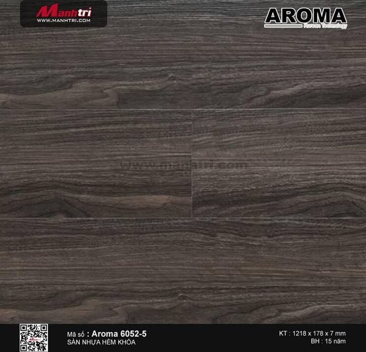 Sàn nhựa hèm khóa Luxury 6052-5