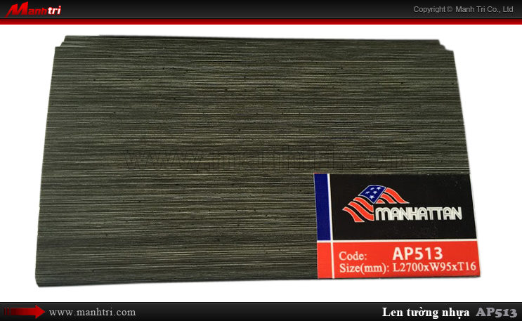 Len nhựa chịu nước AP513