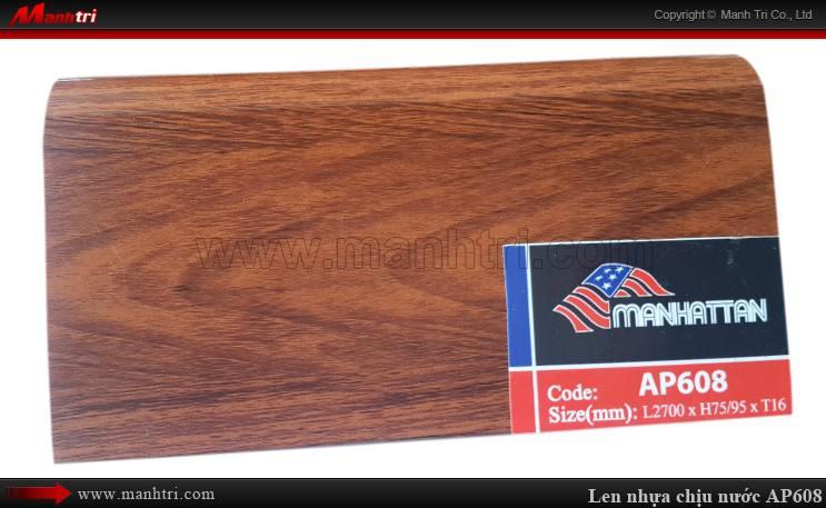Len chân tường sàn gỗ AP608