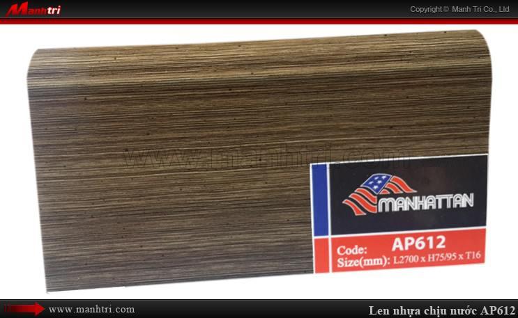 Len chân tường sàn gỗ AP612