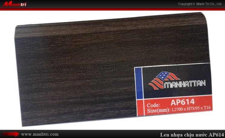 Len chân tường sàn gỗ AP614