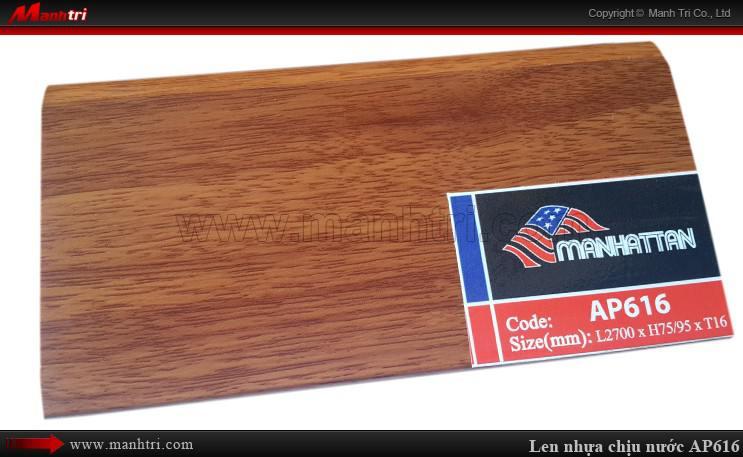 Len chân tường sàn gỗ AP616