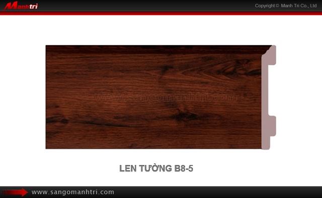 Len chân tường sàn gỗ B801-5