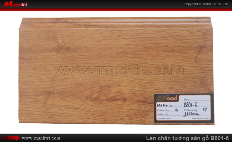Len chân tường sàn gỗ B801-6