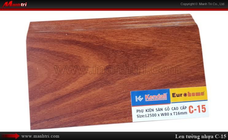 Len chân tường sàn gỗ C 15