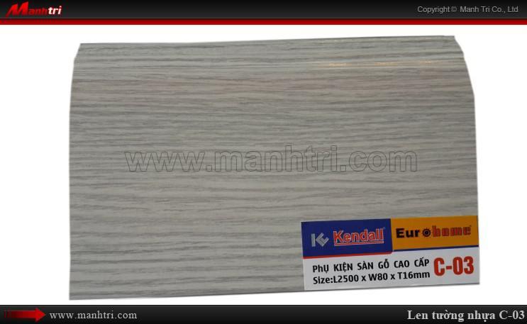 Len chân tường sàn gỗ C 03