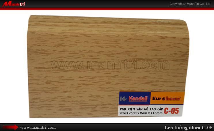 Len chân tường sàn gỗ C 05