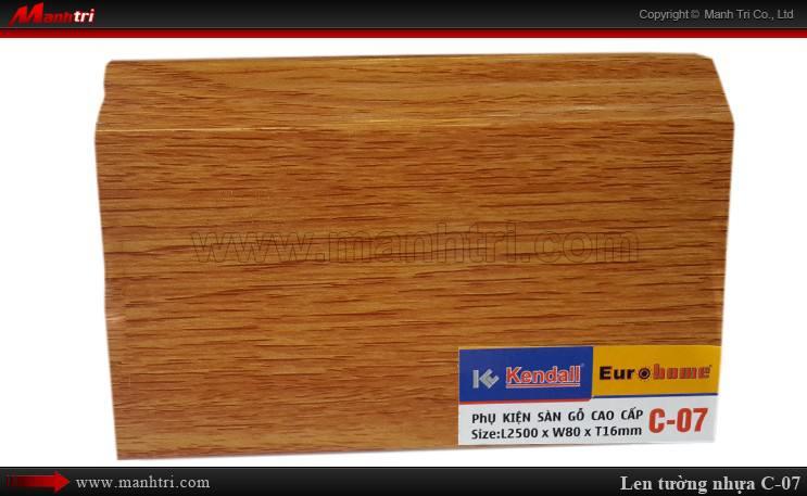 Len chân tường sàn gỗ C 07