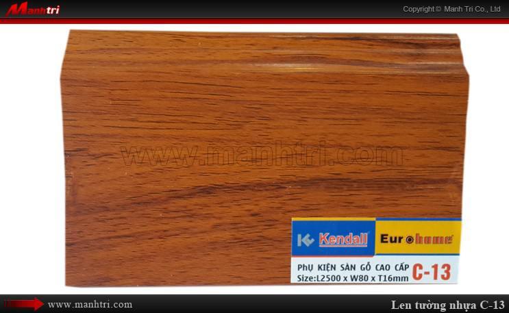Len chân tường sàn gỗ C 13