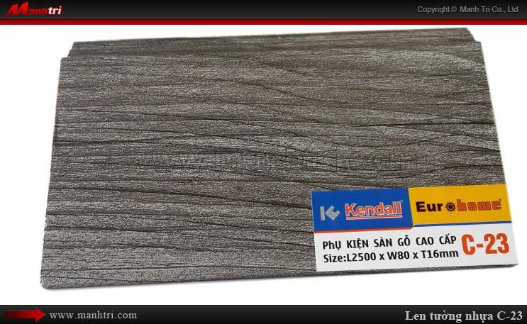 Len chân tường sàn gỗ C 23