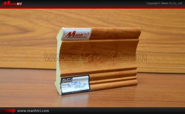 Len chân tường sàn gỗ C808-6