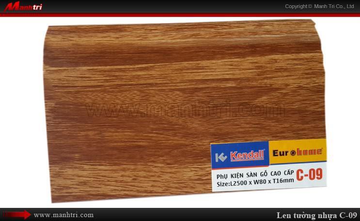 Len chân tường sàn gỗ C 09