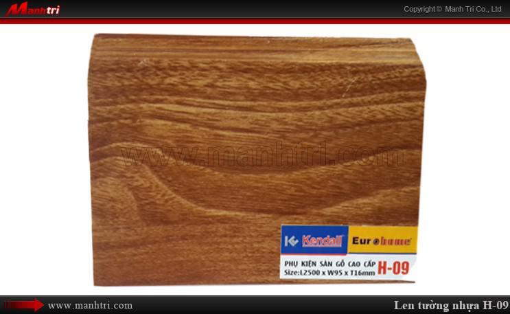 Len chân tường sàn gỗ H 09