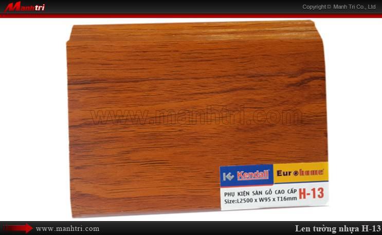 Len chân tường sàn gỗ H 13
