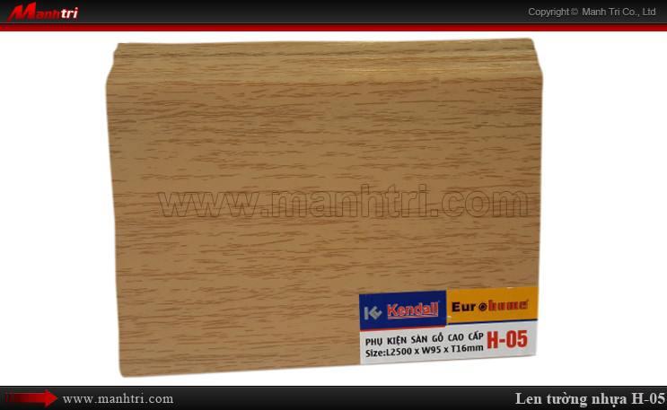 Len chân tường sàn gỗ H 05