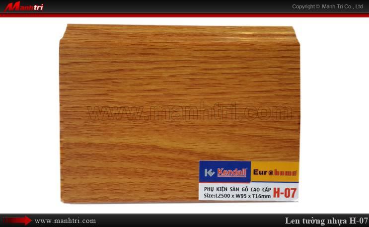 Len chân tường sàn gỗ H 07