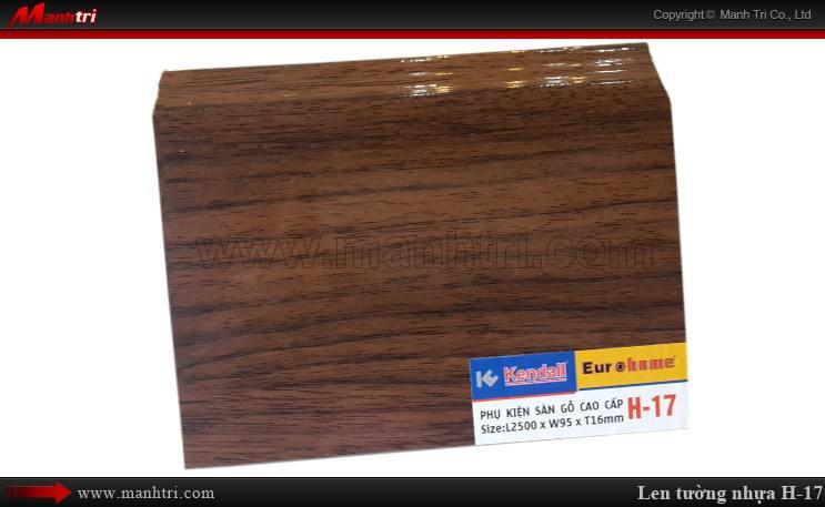 Len chân tường sàn gỗ H 17