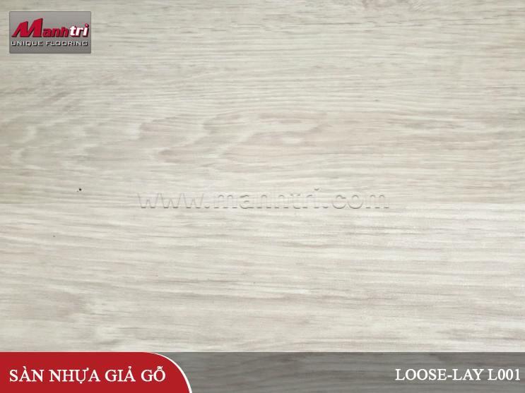Sàn nhựa giả gỗ Loose-lay L001